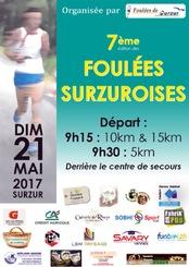 Les Foulées Surzuroises - Dimanche 21 mai 2017