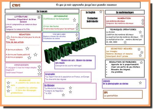 Programme d'apprentissage cinquième période 2012-2013
