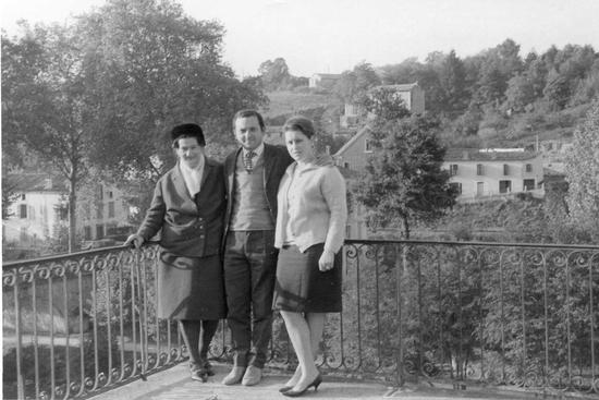 1964- Laguépie- Françoise de passage
