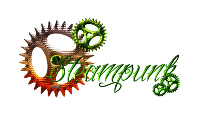 Mini kit Steampunk vert et or