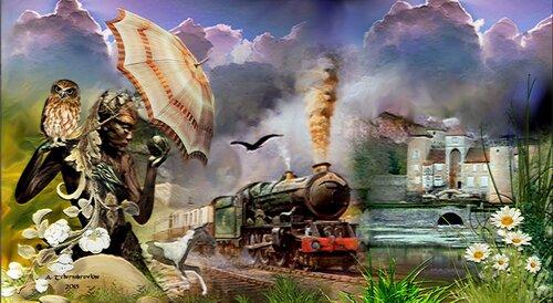 Le train du Mystère !....