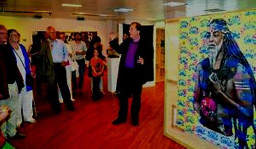 En AllemagneUne galerie de Rahlstedt  expose des tableaux de peintres martiniquais