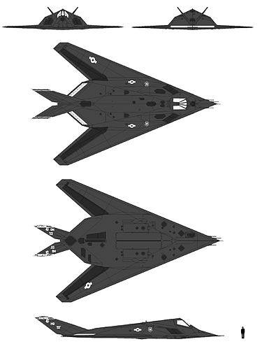 """Résultat de recherche d'images pour """"F-117A Nighthawk."""""""