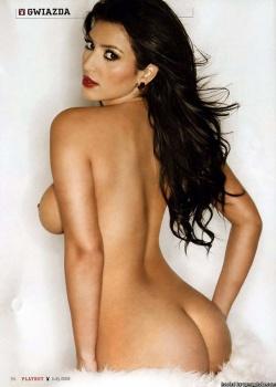 Kim Kardashian nue, star de google