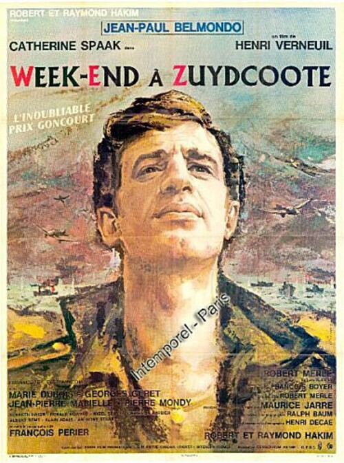 WEEK END A ZUYDCOOTE - BOX OFFICE JEAN PAUL BELMONDO 1964