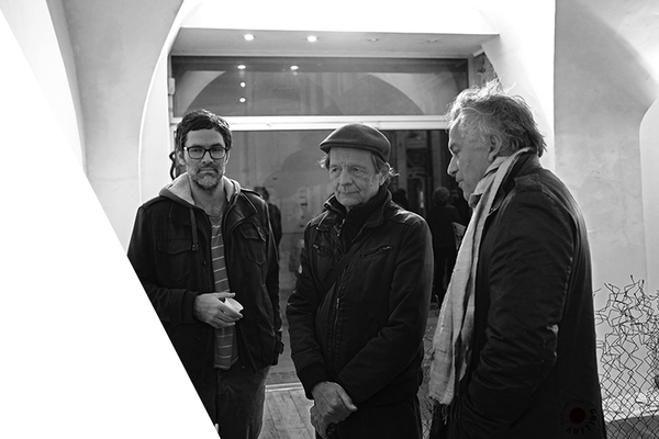 Vernissage Richard Monnier, Alexandre Giraoux, Dominique Gaultier