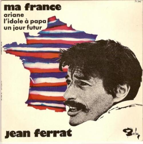 Ma France - Jean Ferrat - son et paroles