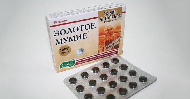 Мумие применение в таблетках при сахарном диабете