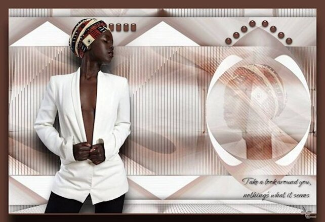 AF0023 - Tube femme africaine