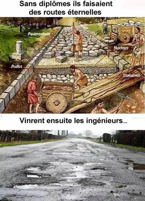 Pourquoi nos routes sont si abîmées !