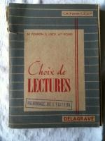 Livres d'école anciens - Français