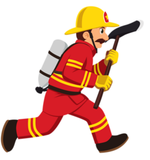 Les Métiers divers no:3 Les Pompiers