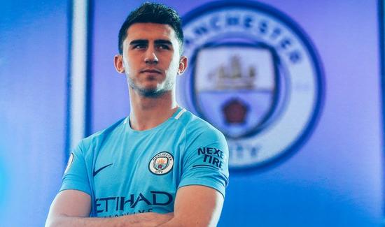 Maillot Extérieur Manchester City Aymeric Laporte