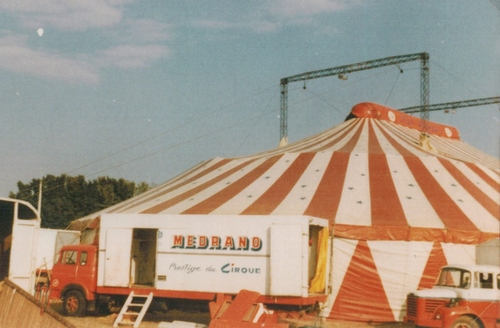 2ieme partie de tournée en 1978 ( archives Raymond Marti)
