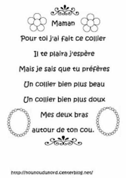 Quelques petits poèmes