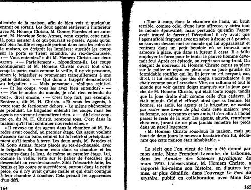 Notion de systeme isolé Flammarion les maisons hantées 049/164