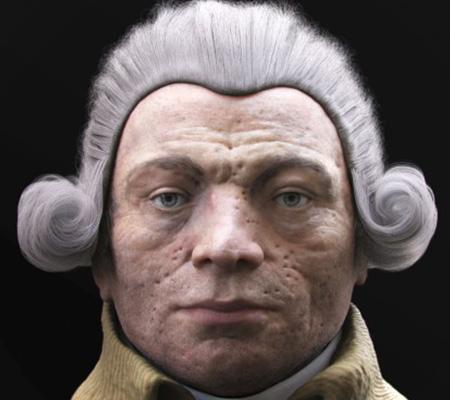 Ce visage est celui d'un célèbre personnage de la Révolution Française. Lequel ?