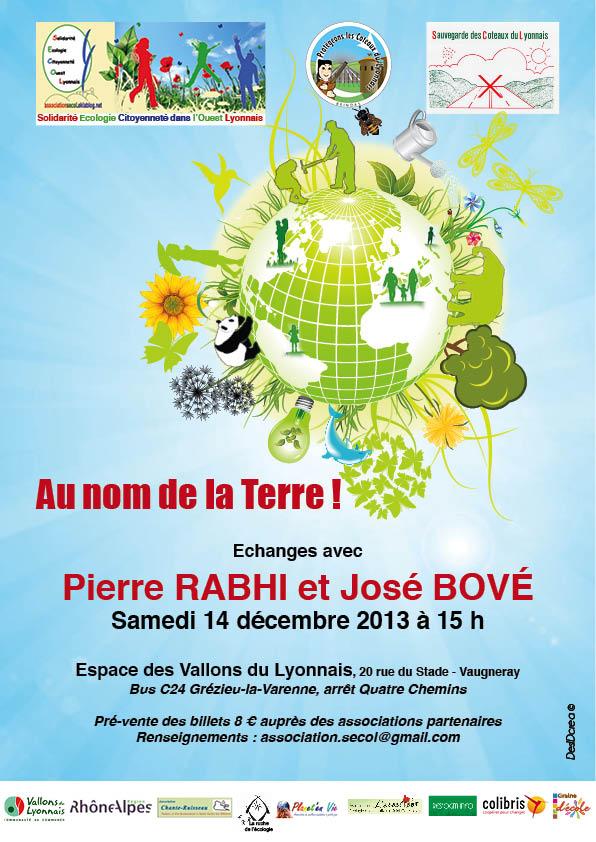 Au nom de la Terre Pierre Rabhi & José Bové