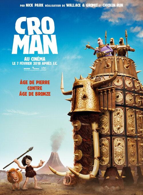 CRO MAN le nouveau film des studios Aardman (bande-annonce) Le 7 Février 2018 au cinéma