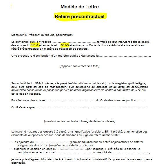 Le référé précontractuel : champs d'application, délai, pouvoir du juge