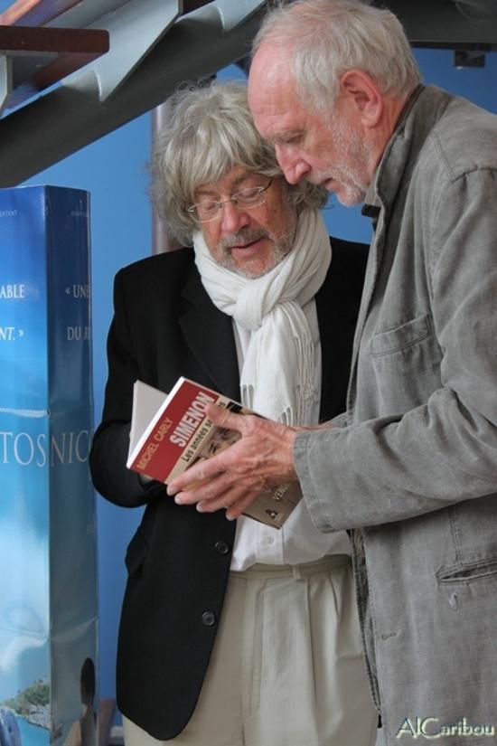 Michel Carly et Alain Gardrat