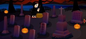 Jouer à Boy graveyard house escape