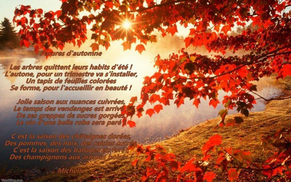 Mon Poème d'automne
