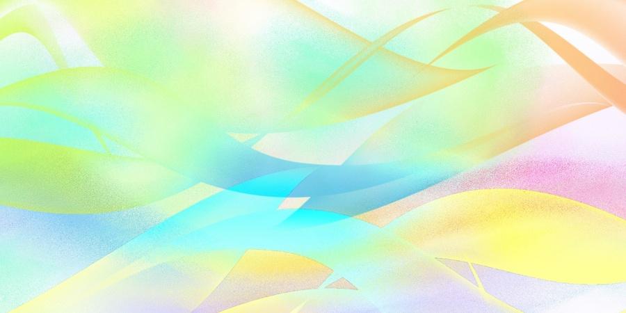 Grandes textures abstrait  teintes printemps/été
