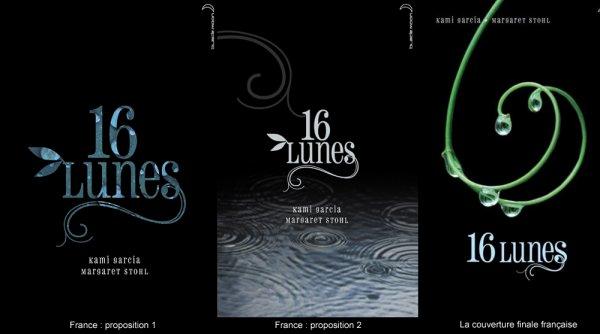 Les couvertures de 16 Lunes dans le monde