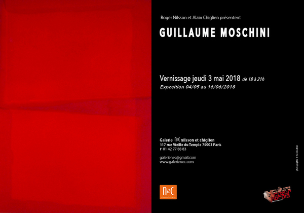 Guillaume Moschini Exposition Paris