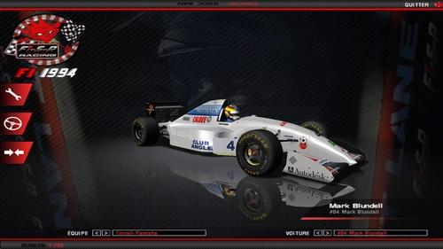 Tyrrell 022- Yamaha OX10B 3.5 V10