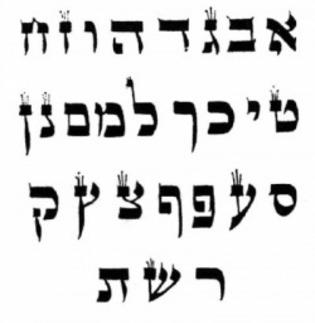 APPRENDRE L'HEBREU