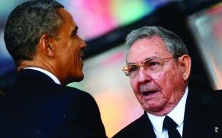 Raoul Castro et Obama