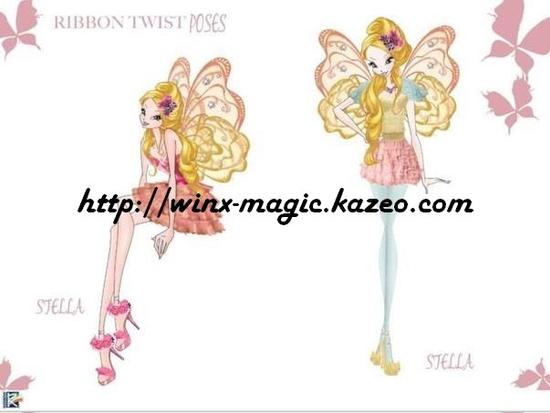 Stella ribbon fairy couture