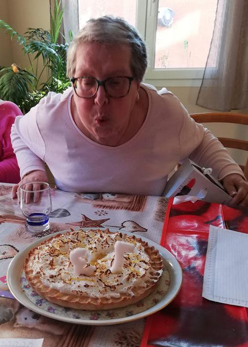 atelier chez Christine : l'anniversaire de Tantine...