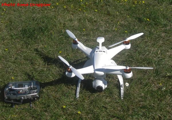 Des drônes au Club d'Aéro-Modélisme de Châtillon sur Seine