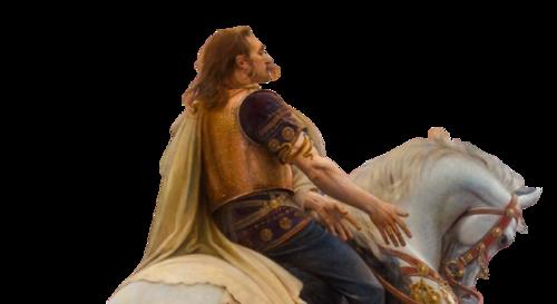 En ces temps ou César fut pris de frénésie  à conquérir la Gaule...