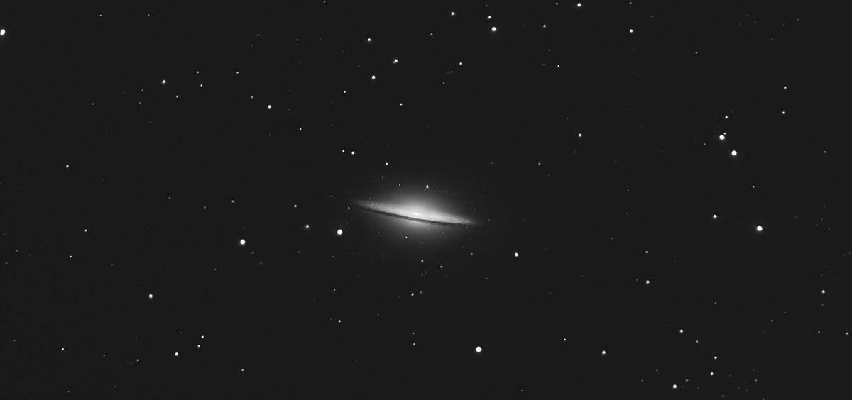 M104, Galaxie du sombrero.