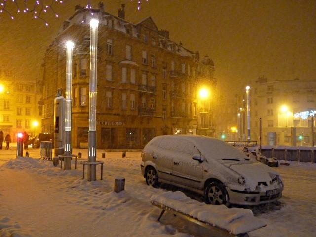 Metz sous la neige 8 décembre mp1357 2010