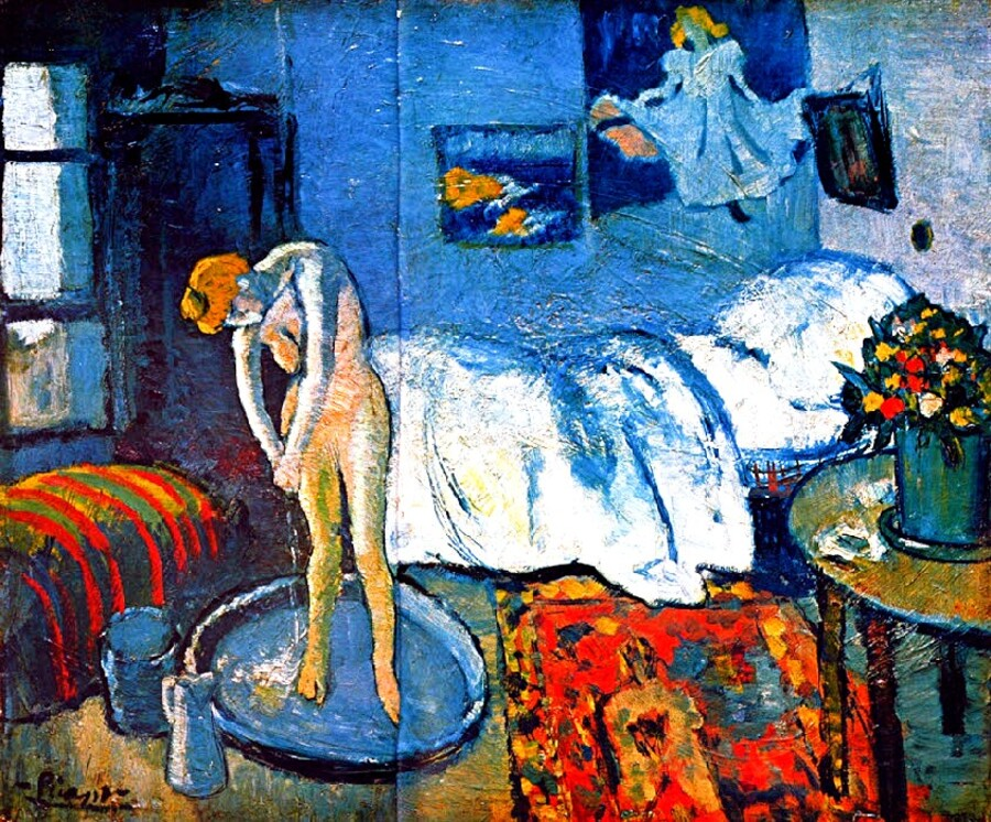 4.Picasso /  Barcelonne ...Paris 1900
