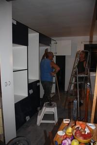 Faïences, meubles, plans de travail et finitions