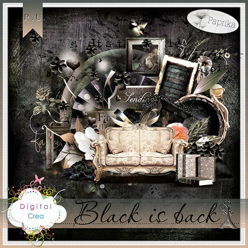 """Black is back"" by Paprika"