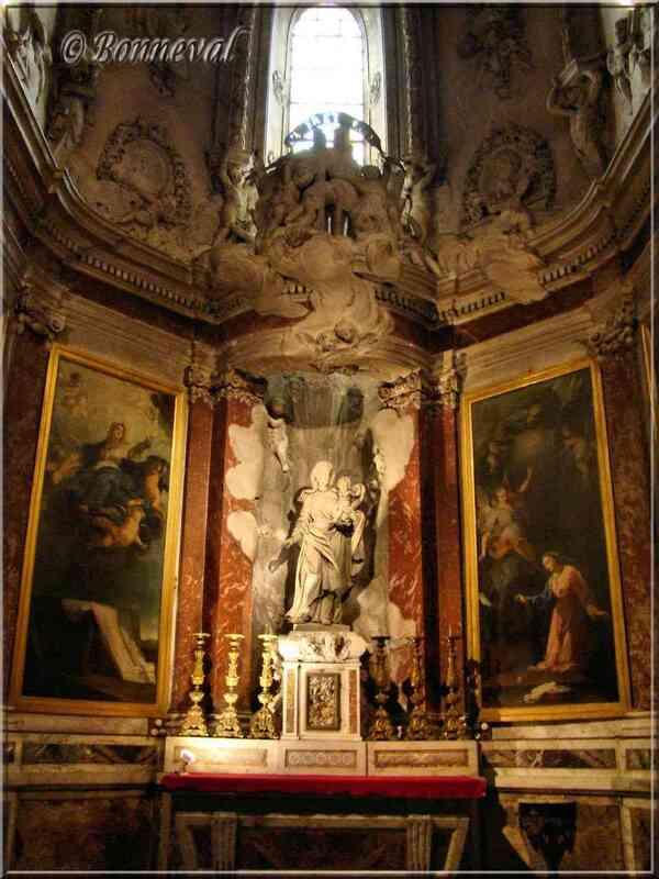 Cathédrale Sainte-Cécile d'Albi autres Chapelles latérales