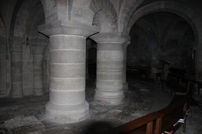 crypte abbaye de fleury