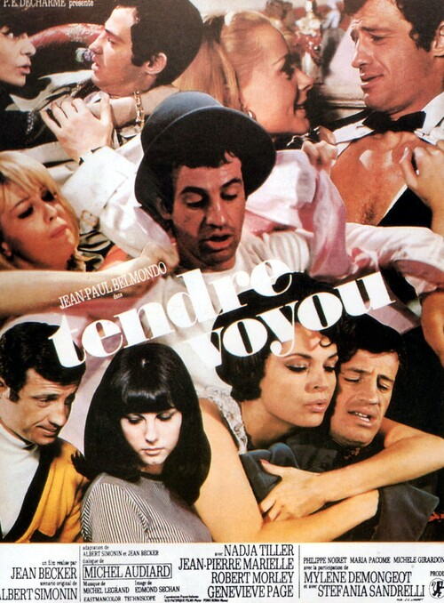 TENDRE VOYOU - BOX OFFICE JEAN-PAUL BELMONDO 1966