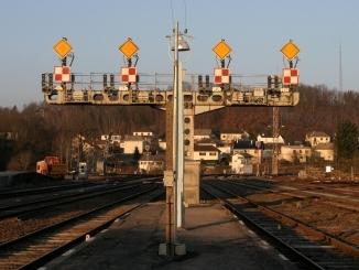 La signalisation ferroviaire sur les lignes de chemin de fer