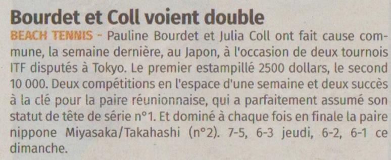 Bourdet et Coll voient double