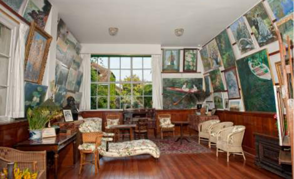 Givery , le Salon Atelier Claude Monet - Ouest 2 Paris