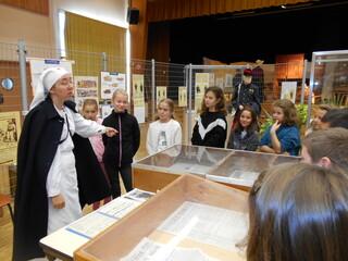 Visite de l'exposition sur la première guerre