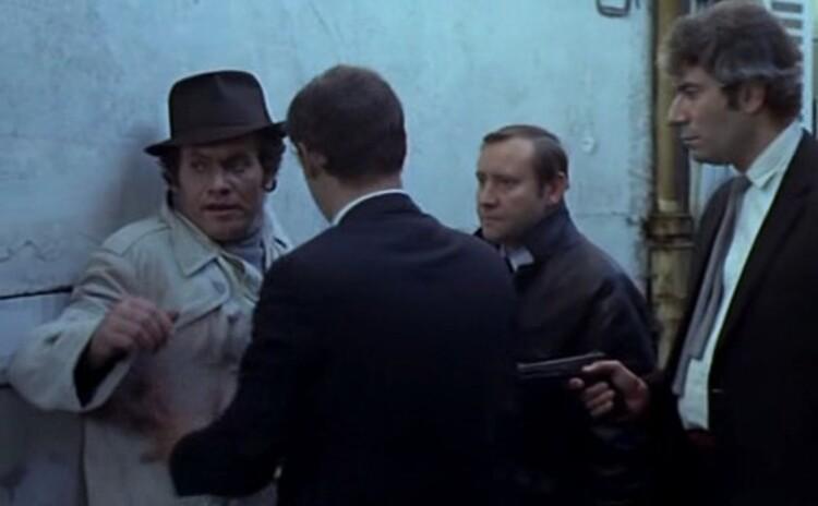 ROMY SCHNEIDER- MICHEL PICCOLI MAX ET LES FERRAILLEURS -1971